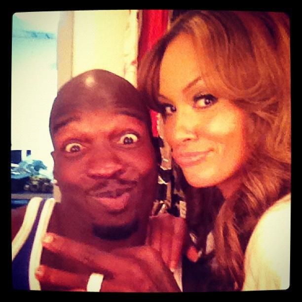 Chad 'ochocinco' Johnson and Evelyn Lozada
