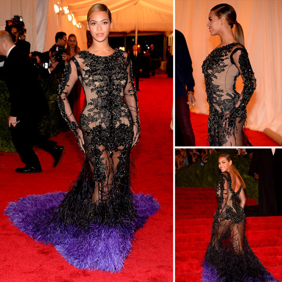 Beyonce Red Carpet Ponytail