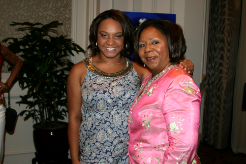 Caitlyn Renee and First Lady Serita Jakes