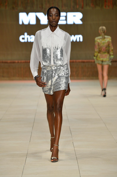 Charlie Brown - MYER collection show -Mercedes-Benz Fashion festival Sydney 2012