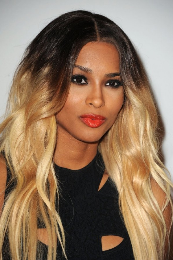 Ciara Red Lips