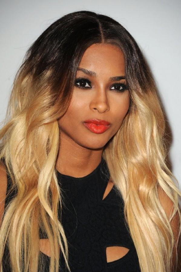 Ciara Red Lips