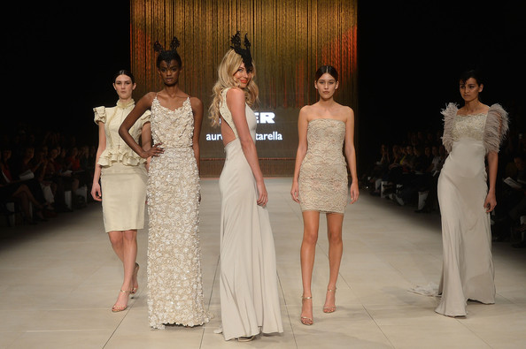 Aurelio Costarella - MYER collection show -Mercedes-Benz Fashion festival Sydney 2012