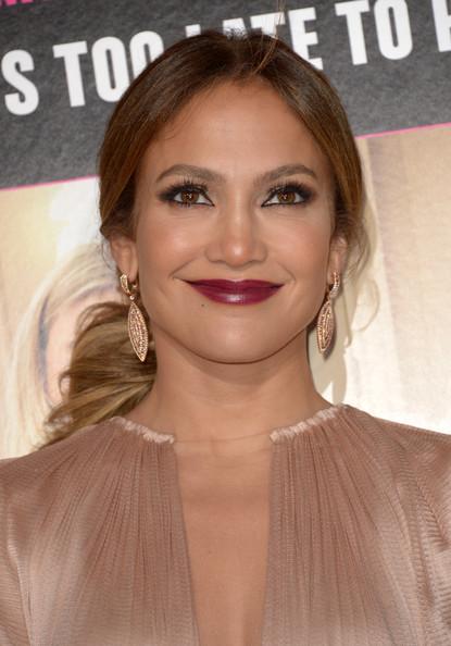 Jennifer Lopez red carpet ponytail