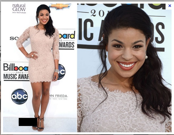Jordin Sparks Red Carpet Ponytail