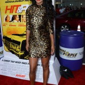Joy Bryant at the premiere of  Hit &amp; Run at Regal Cinemas L.A. Live