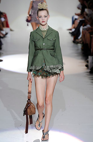 Marc Jacobs Fall Military Jacket