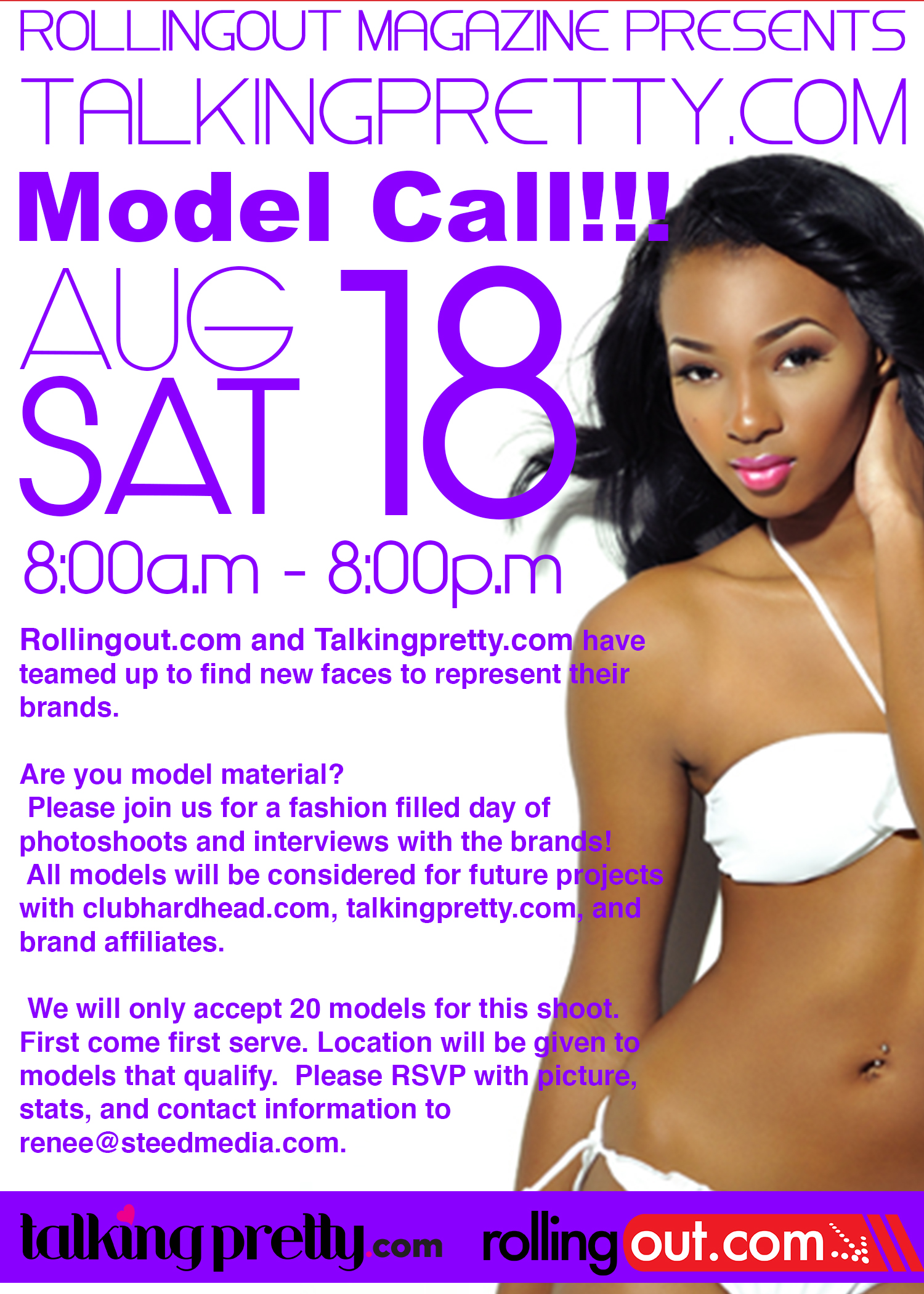 talkingpretty model call
