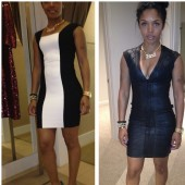 "Rasheeda ""dress shopping...what y'all think???"""