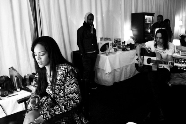 Rihanna Facebook photos