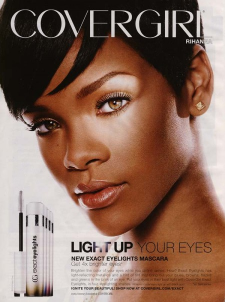 Face of Covergirl in 2008