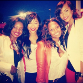 Trina with the real basketball wives
