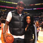 Amare Stoudemire and Ciara