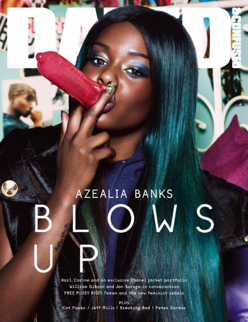 Azealia Banks- Dazed and Confused cover - Banned