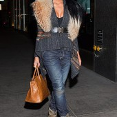Ciara with Birkin Bag