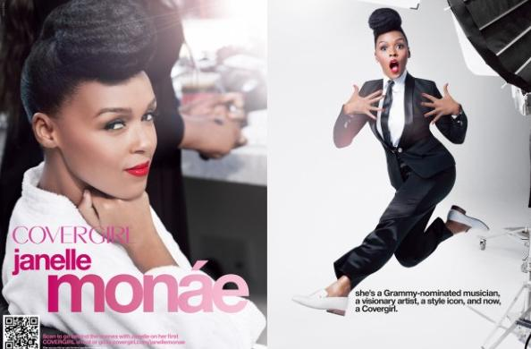 janelle monae new face of covergirl