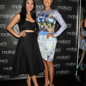 La La Anthony and Vanessa Bryant