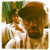 "LeBron James ""Bus flow on way to game vs France @cp3"""