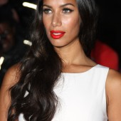 Leona Lewis looks gorgeous at the GQ Men of the Year Awards rocking red lips.