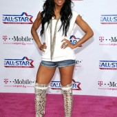 Ciara shorts and tall boots
