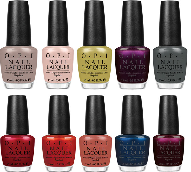 opi nails fall 2012