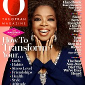 Oprah Shows Off Her Natural Hair
