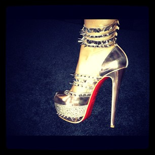 Evelyn Lozada shoes on instagram