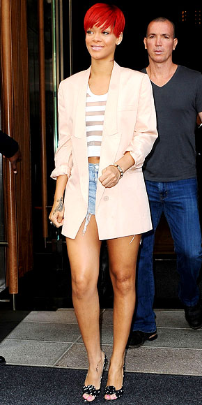 rihanna-in-a-stella mccartney boyfriend-blazer