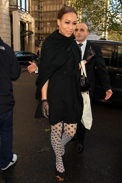 tights Rebecca Ferguson x factor