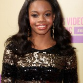Gabby Douglas - natural look