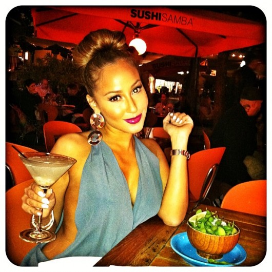 Adrienne-Bailon bun