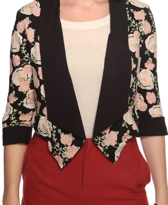 Cropped Rose Jacket $24.90