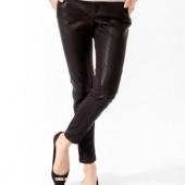 Faux Leather Moto Pants ($24.80) Forever 21