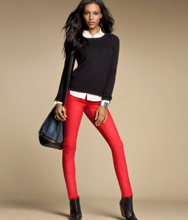 HM Red Pants