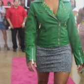 Kandi Burruss Tags II Boutique Fashion Show