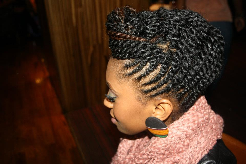 Cute Hairstyles to Hide Split-Ends Protective Styles – Talking ...