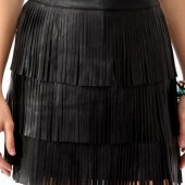 Tiered Fringe Skirt ($22.80) Forever 21
