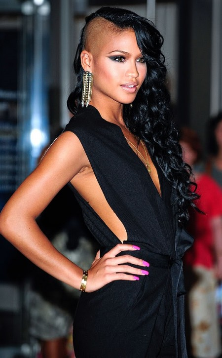 cassie-black-hair-and-dress