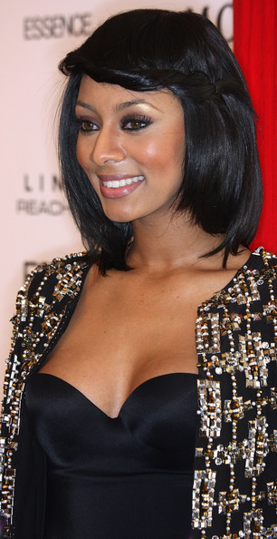 keri hilson shoulder length jet black