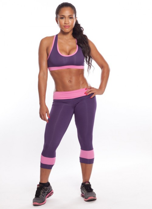 Acosta Fitness Youtube Rosa Acosta Workout Clothinglook Cute While You