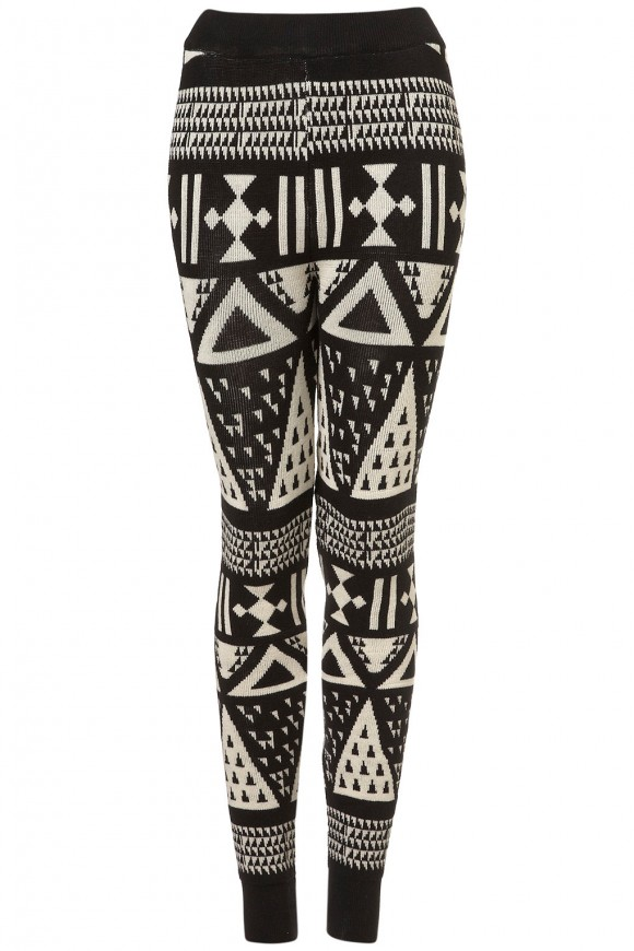 Aztec Leggings for Fall
