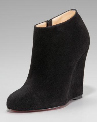Belle Zeppa Suede Wedge Bootie $995