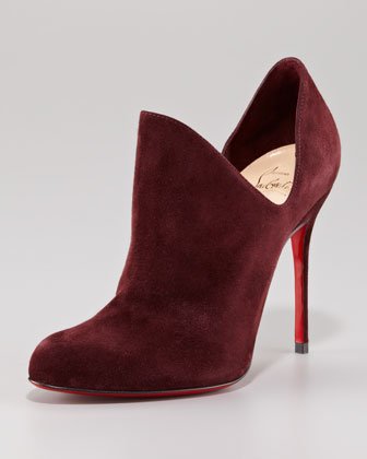 Dugueclina Side Dip Red Sole Bootie $995