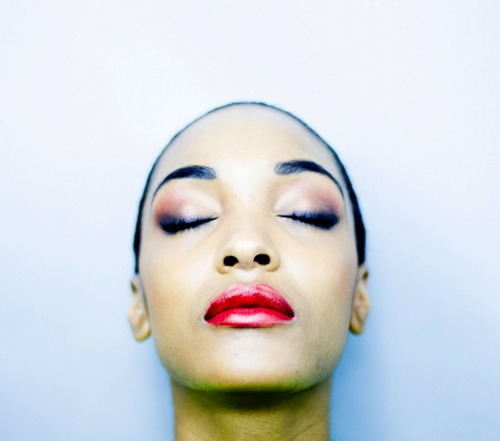 Jourdan dunn bright and glossy