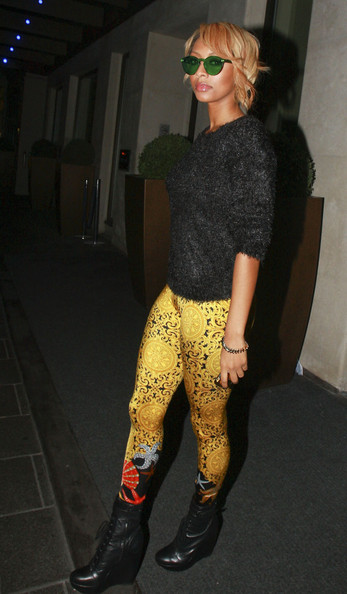 Keri Hilson leggings for fall