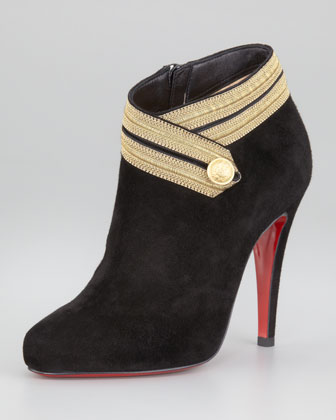 Marychal Suede Red Sole Bootie $1095