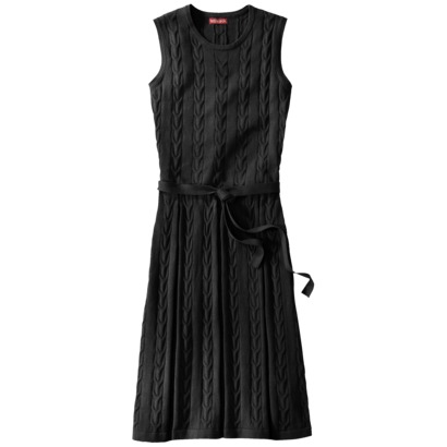 Merona Cable Pleated Skirt Sweater Dress $39.99