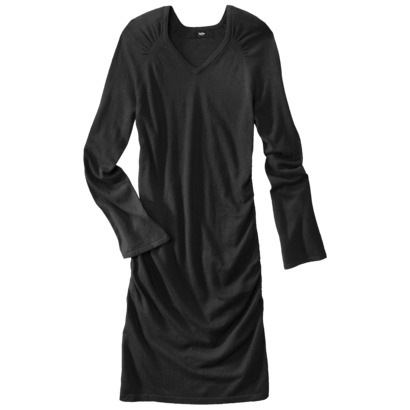 Mossimo V-neck ruched sweater dress $29.99