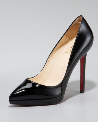 Pigale Plato Point-Toe Patent Pump $775