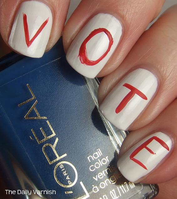 Rock the vote nails